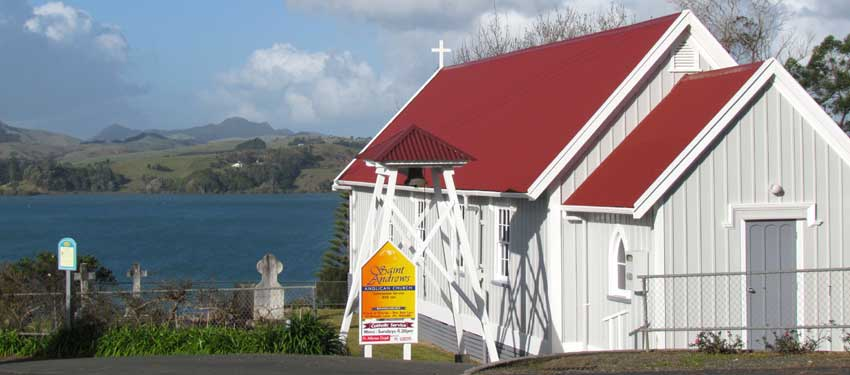 St Andrew's Anglican Church Mangonui   A Mission District of